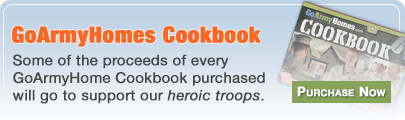 GoArmyHomes Cookbook