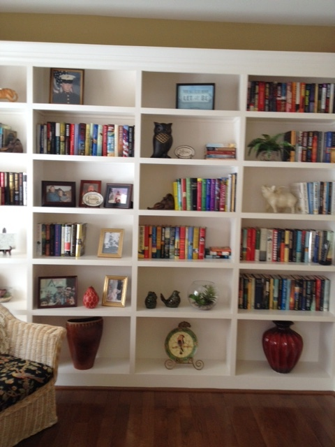 Stiger Family Custom Bookcase
