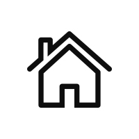 icon of an outline of a house