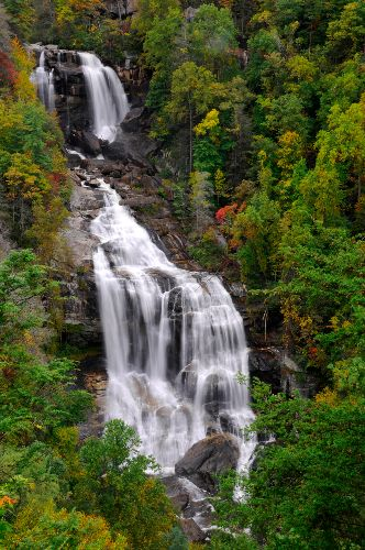 Whitewater Falls near Cullowhee NC
