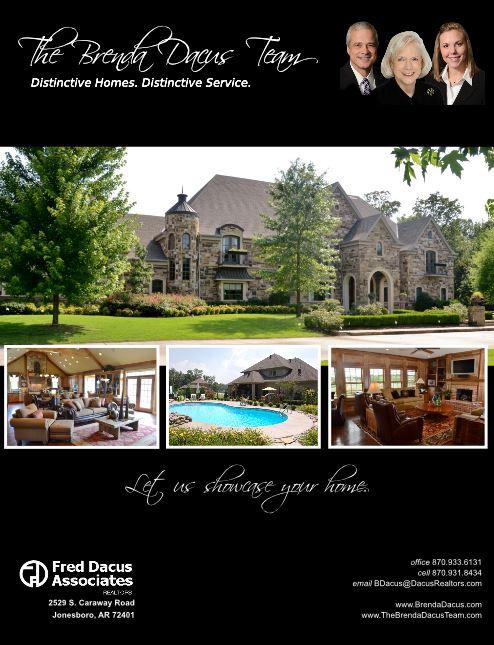 The Brenda Dacus Team Marketing Portfolio