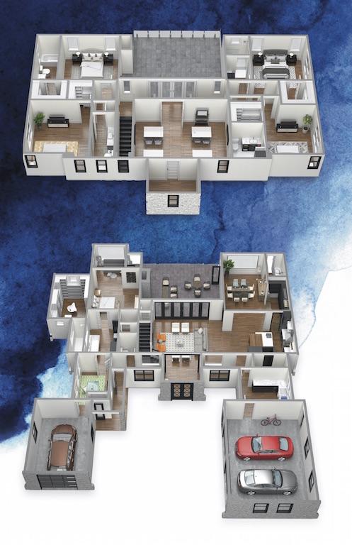 floor plans for luxury homes in sawyer sound windermere fl