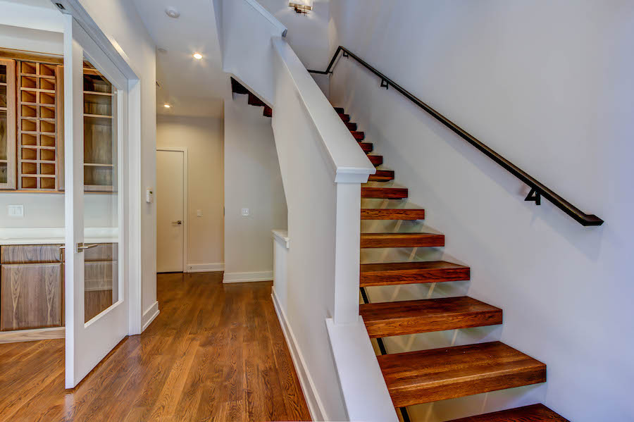 entrance walkway to stairs