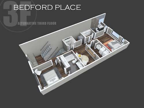 Bedford Place alternative third floor layout
