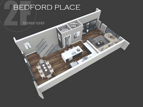 Bedford Place second floor layout
