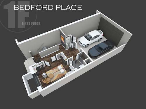 Bedford Place first place layout