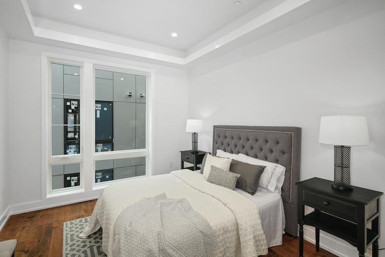 Regent Row modern bedroom
