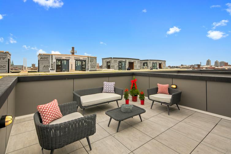 Regent Row roof lounge